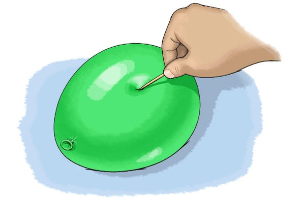 Stretchy Balloon Science