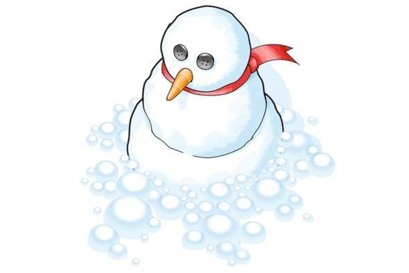 "Foamy White ""Snow"""