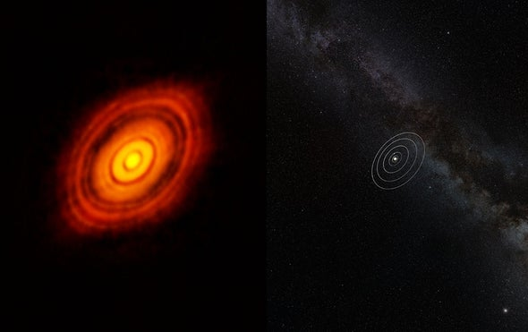 Super-Earths May Explain Curious Gaps in Planet-Forming Disks
