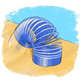 Slinking Science: Take a Slinky Toy for a Walk