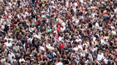 Human Population Growth Creeps Back Up