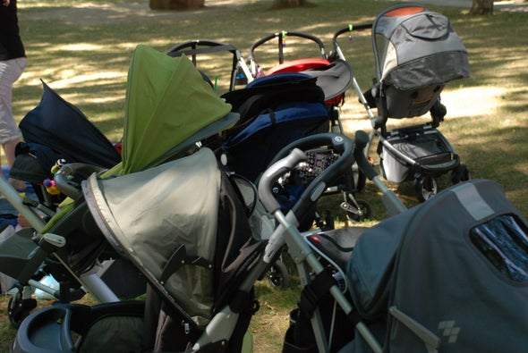 2 Children per Hour Go to the Emergency Room for Stroller, Carrier Injuries