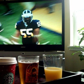 beer and tv