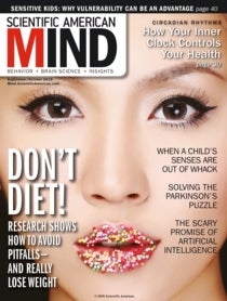 Scientific American Mind Volume 26, Issue 5