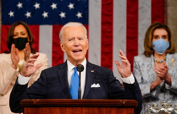Biden Tells Congress Climate Action and Job Creation Are the Same
