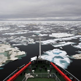 sea ice, melting sea ice, geoengineering, ice ship