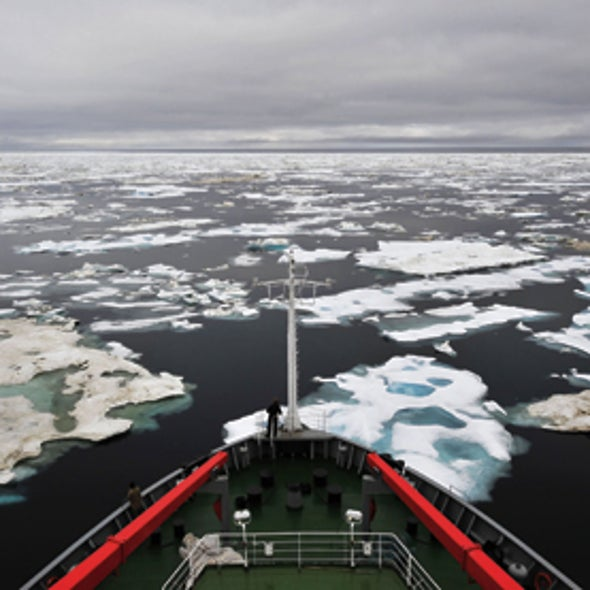 Geoengineering May Be Our Best Chance to Save Sea Ice