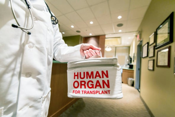U.S. Funds Efforts to Freeze Human Organs for Long-Term Storage