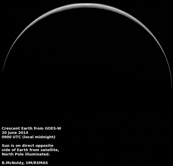 One Great View of Earth for the Summer Solstice