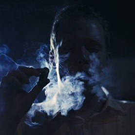 smoking in movie