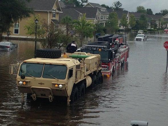 Hurricane Joaquin Helps Fuel Record Rains, Damaging Floods