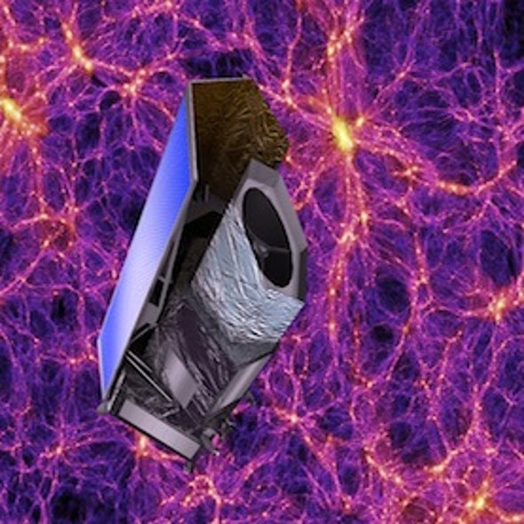 NASA Joins European Dark Energy Mission