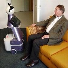robots care for seniors