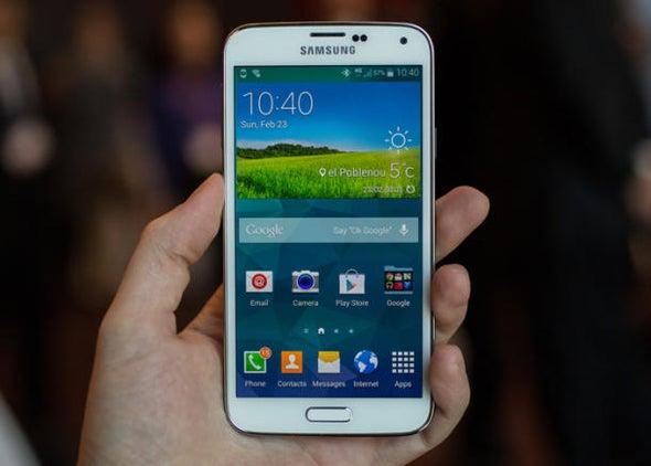 Galaxy S5 unveiled with fingerprint sensor, bigger screen
