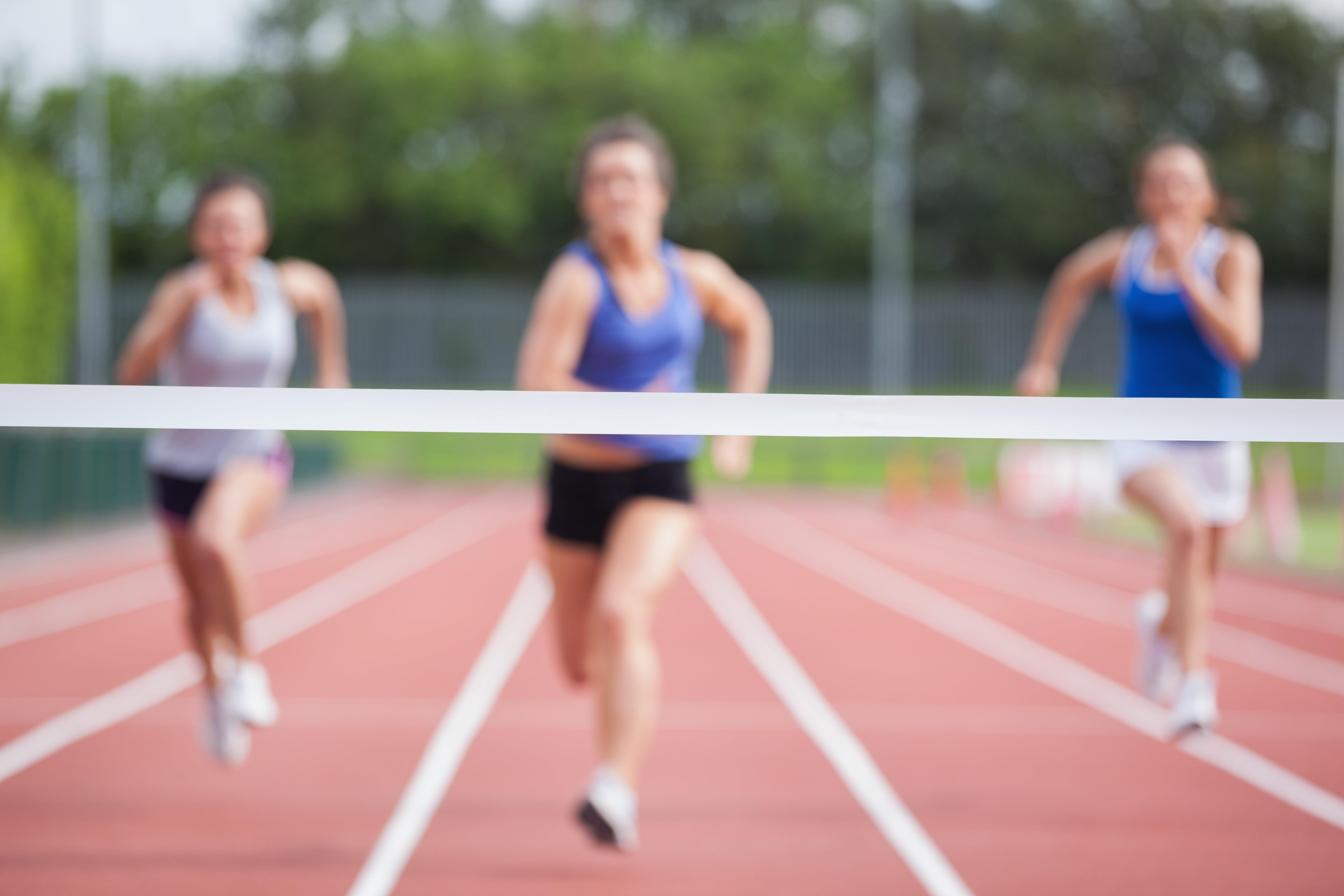 Finish Line Makes You Push Harder