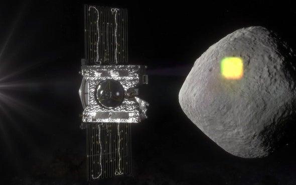 获得创造的污垢-在OSIRIS-REx的第一次近距离观察本努