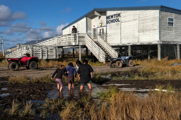 Alaska's Coastal Communities Face a Growing Climate Threat
