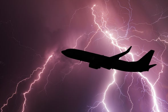 Pumping Charged Particles onto Airplane Surfaces Could Reduce Lightning Strikes