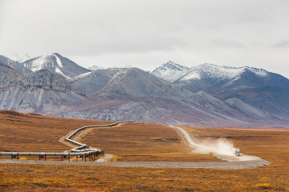 Thawing Permafrost Is Artificially Chilled to Stabilize Alaska Oil Pipeline