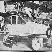 Autoplane: airplane and car. Designed by Glenn Curtiss and shown at the 1917 Pan-American Aeronautic Exposition in New York. Cost: about $190,000 in today's money.