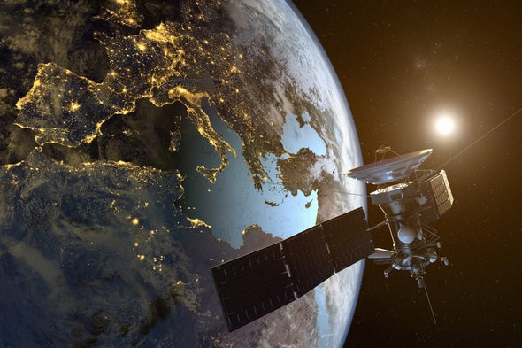Huh? Carbon Dioxide Emissions Raise Risk of Satellite Collisions