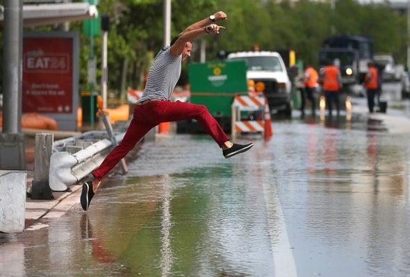 With Sea Level Rise, High-tide Flooding Spikes Along U.S. Coasts