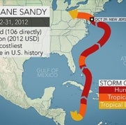 How Will Joaquin Compare with Superstorm Sandy and Hurricane Isabel?