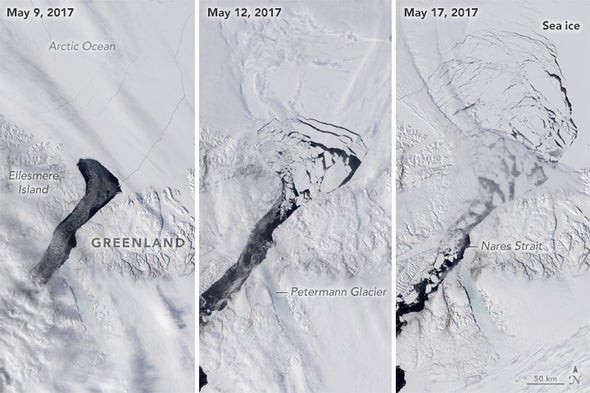 Forget That Big Iceberg--A Smaller One in the Arctic Is More Troubling