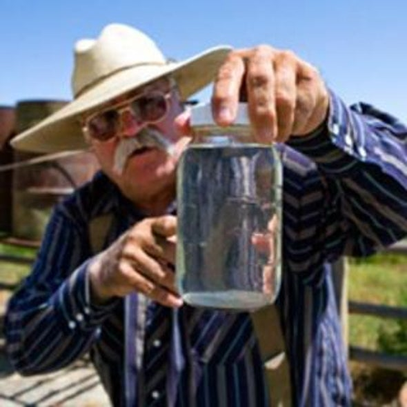 EPA: Chemicals Found in Wyoming Drinking Water Might Be from Natural Gas Drilling