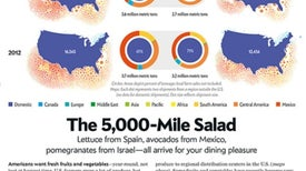 Graphic Science: A World of Food, Delivered to America's Doorstep
