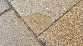 Paving Slab Generates Electricity with Footfalls