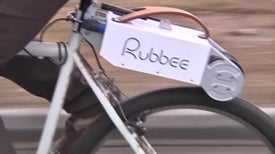 "Cycling Gets Lazier with the ""Rubbee"""