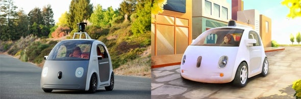 Google Reveals New Self-Driving Car