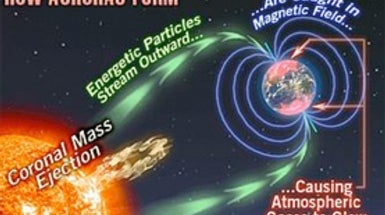 Big Solar Flare May Bring Major Aurora