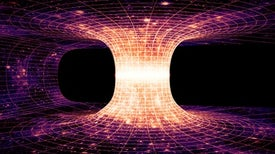 "Gravitational ""Echoes"" Could Reveal Colliding Wormholes"
