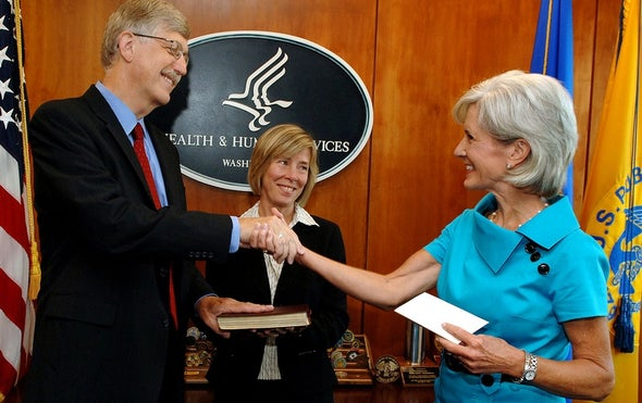 Trump Meets with 2 Contenders to Lead NIH
