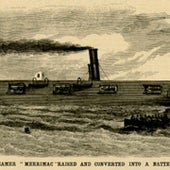 The War Steamer Merrimac, 1861