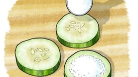 Cucumber Chemistry: Moisture Capture with Desiccants