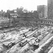 BUILDING GRAND CENTRAL TERMINAL, 1912: