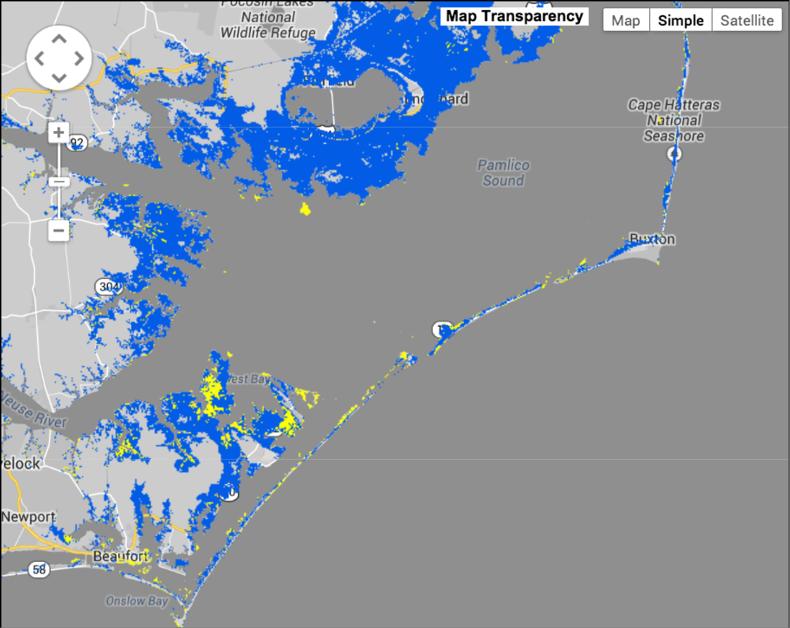 New Storm Surge Forecast Maps Enhanced Preparedness for Hurricane Arthur