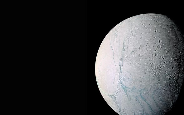 Enceladus's Buried Ocean Is Just beneath the Surface