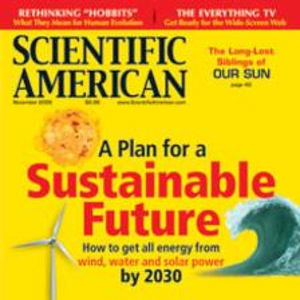 "Readers Respond on ""A Path to Sustainable Energy by 2030"""