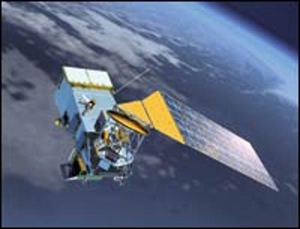 Polar Satellite Freeze