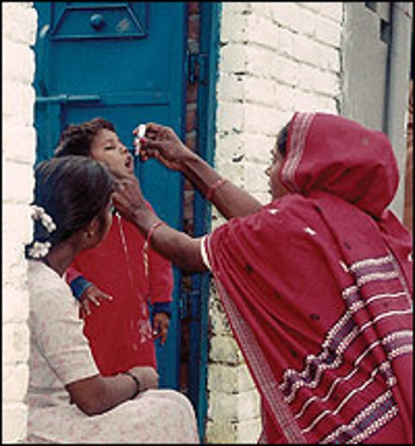 Vaccine Analysis Suggests New Hope for Eradicating India's Persistent Polio
