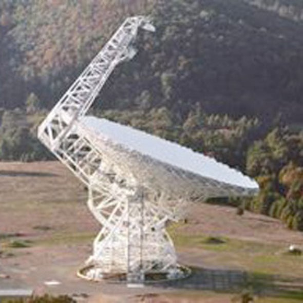 Too Big to Fail? The Green Bank Telescope's Uncertain Future