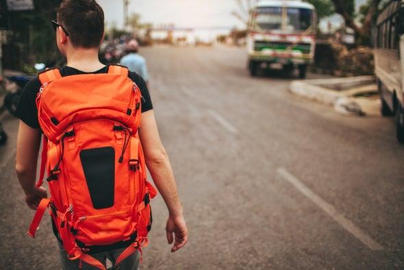 Backpack Harvests Energy As You Walk