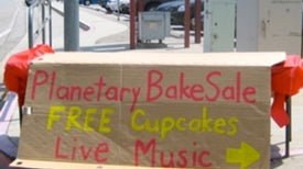 "NASA Scientists Fight Budget Cuts with ""Bake Sale"""
