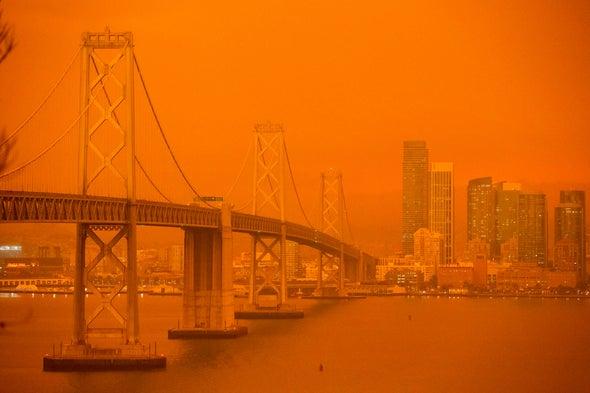 Photos Show Massive Wildfires Devastating Oregon and California