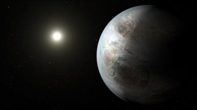 Kepler Mission Discovers a Near-Twin of Earth Orbiting Sunlike Star