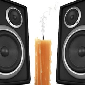 speakers-and-flame